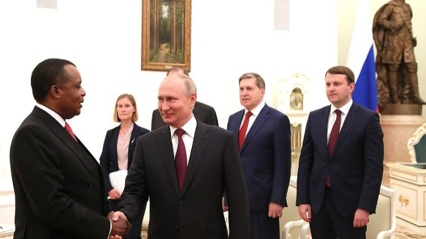 "Russia's Military Deal with the Congo Republic Completes Its African ""Corridor of Influence"""