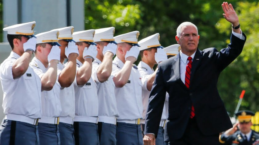 Mike Pence Declares War on the World at West Point