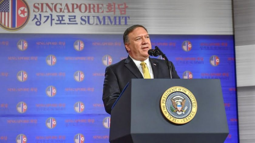 Pompeo Lies, Cheats and Steals (But He's Still a Good Christian)