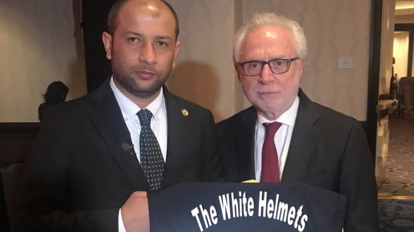 Israel's Terrorists: The White Helmets Receive an Award