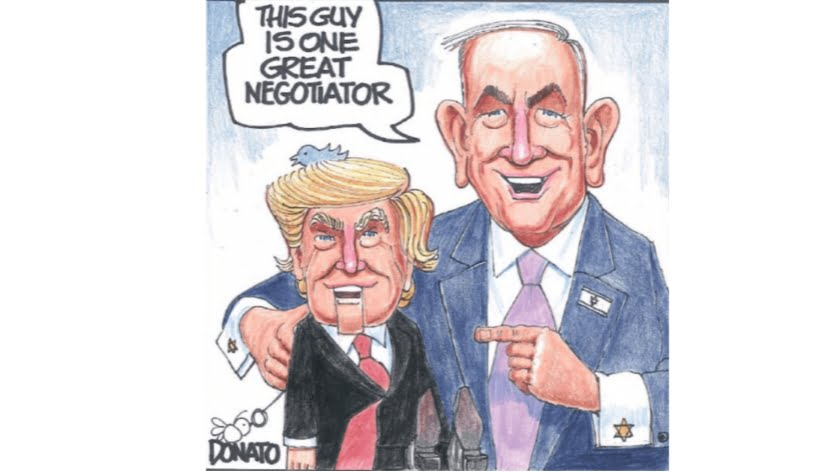 Netanyahu Took Trump to New Heights of Global Tension and Dropped Him