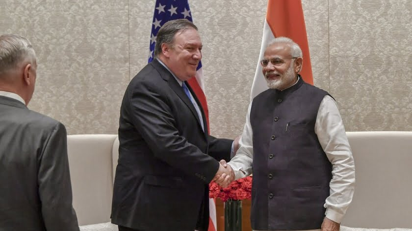 Pompeo Might Have the Perfect Carrot to Dangle in Front of Modi's Mouth