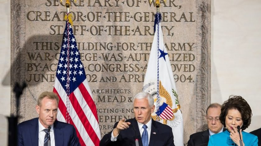 Pence Goes to War: America Will Be Fighting Forever