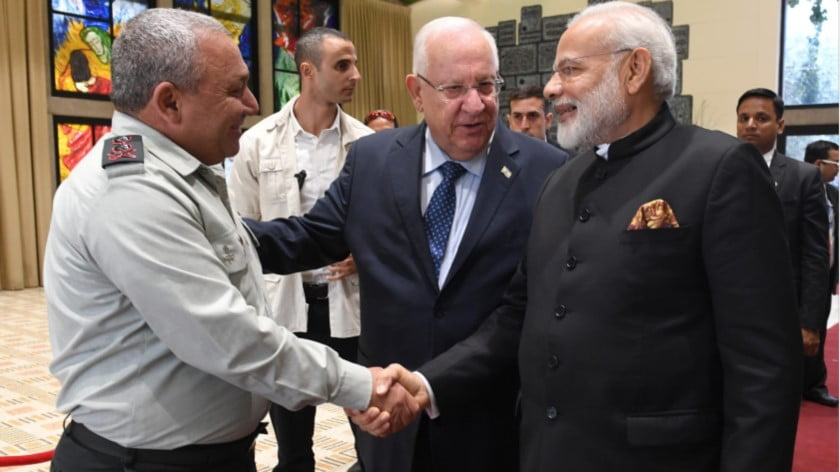India Doubles Down on Its Military Alliance with Israel