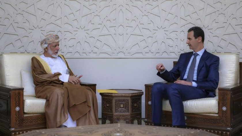 On Whose Orders Did Oman's Foreign Minister Visit Syria?