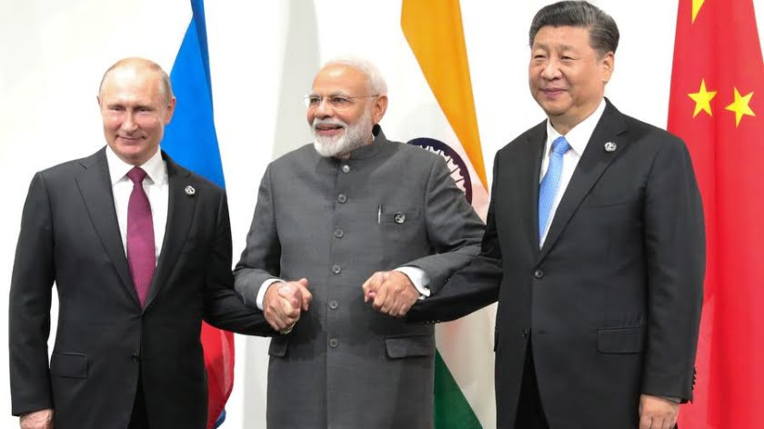 Russia-India-China Share a Room with a View