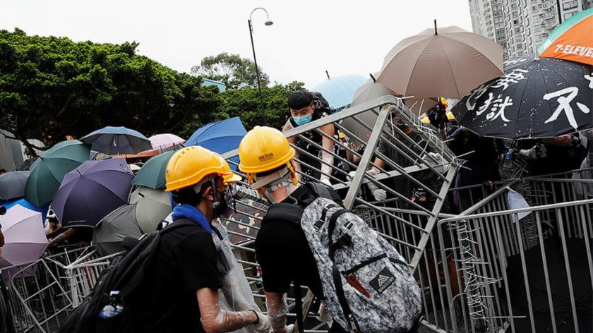 For the Anti-China Lobby Hong Kong Unrest is a Godsend