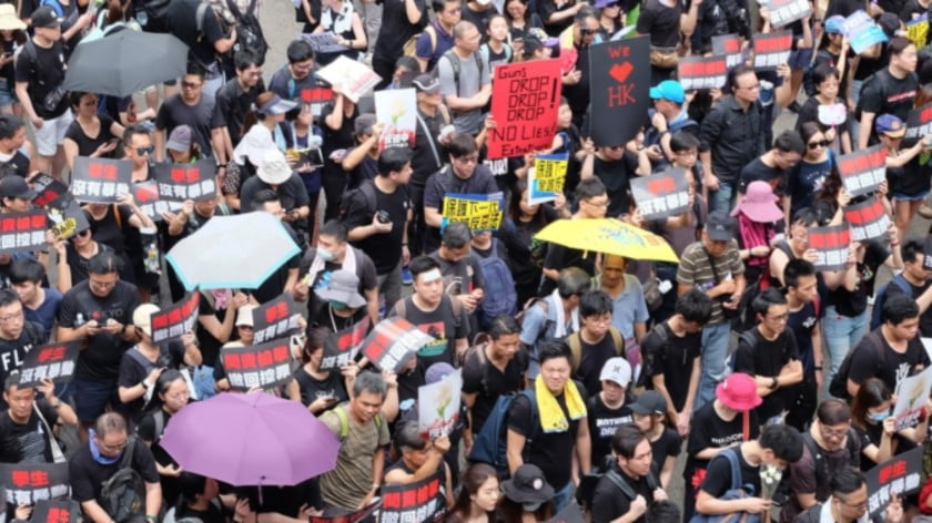 Hong Kong: Don't Provoke the Dragon