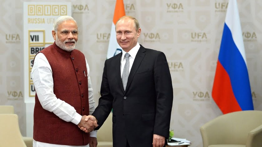 Russia's Silence on India's Anti-Chinese Threats Is Deafening