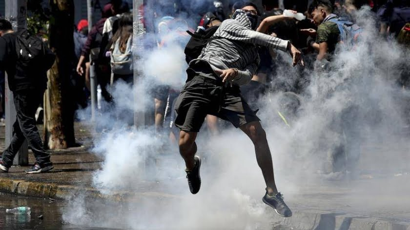 The Chilean Unrest Isn't Unique, It can Happen Literally Anywhere at Anytime