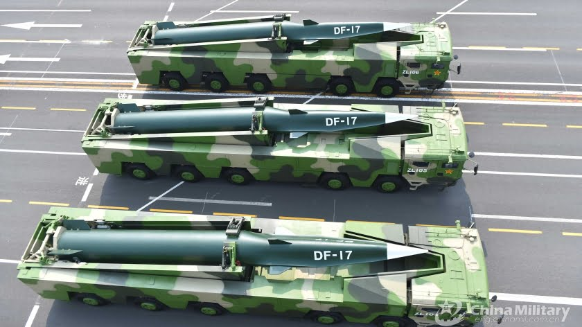 China's Anniversary Parade Reveals New Weapons That Will Influence U.S. Strategies