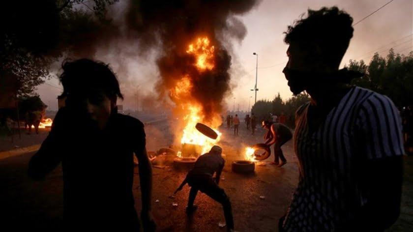 Death Toll in Iraq Soars as Pro-Iran Gunmen 'Shooting Protesters'