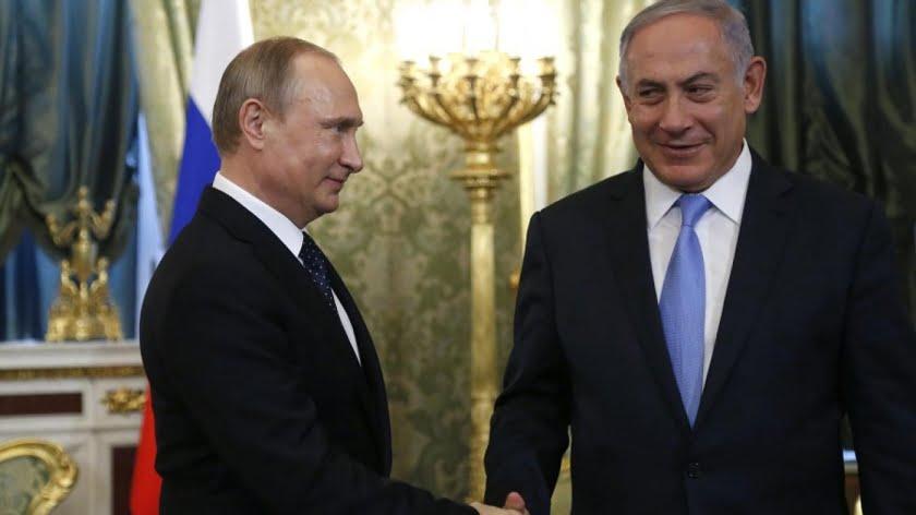 Debunking the Putin and Netanyahu/Israel Work Together Canard