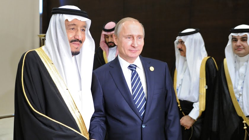 Landing in Riyadh: Geopolitics Work in Putin's Favour