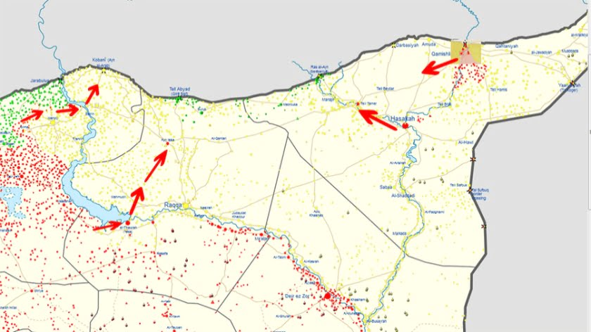 Winners and Losers in the Turkish attack on Kurds in Syria? Part 1