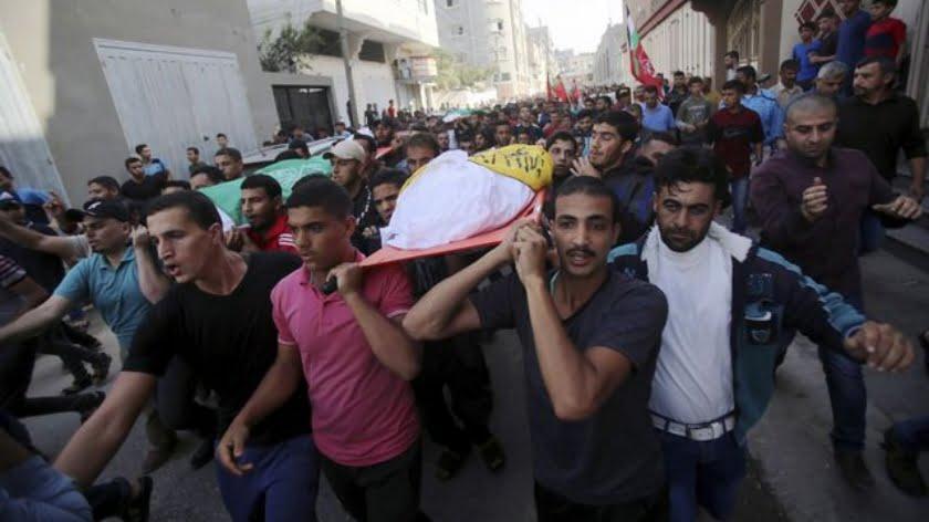 Dozens of Palestinians Killed in Israeli Strikes on Gaza