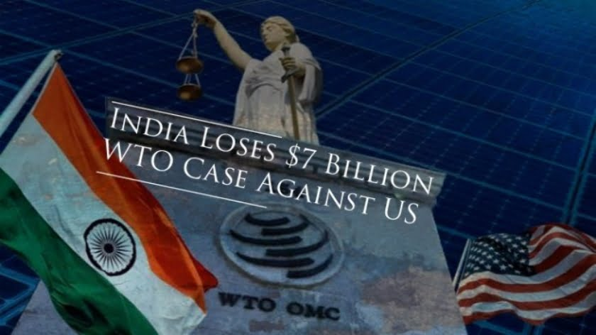 India Loses $7 Billion WTO Case Against the US