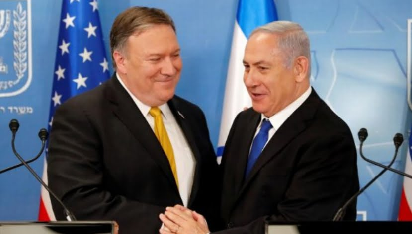 Pompeo Gives Away the Palestinian West Bank