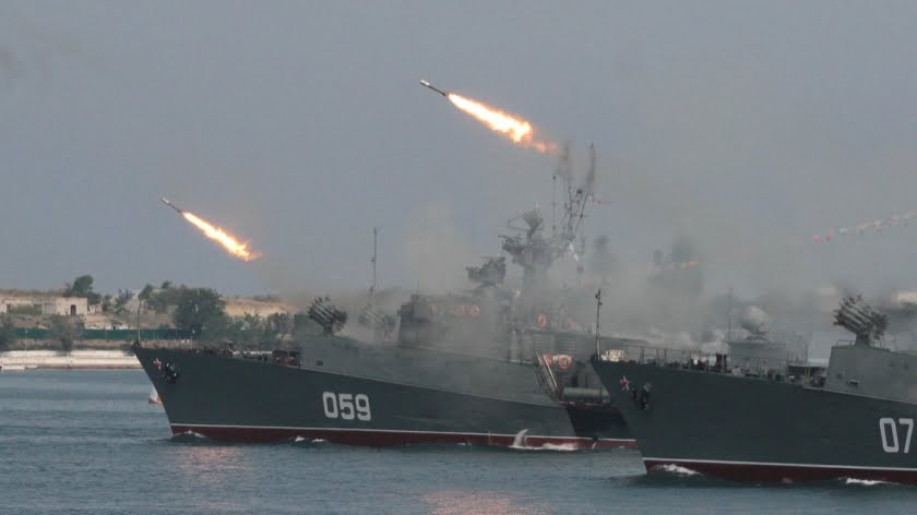 Russian Naval Presence in Indian Ocean