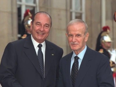 For Jacques Chirac, Hafez el-Assad was the only leader capable of unifying the Arab world. He compared him to Otto of Bismarck.