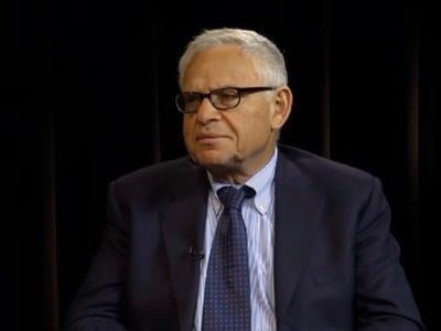 """A disciple of philosopher Leo Strauss and official historian of the Israeli army, Edward Luttwak inspired the invisible coup d'état of September 11, 2001 with his book, """"Coup d'État: A Practical Handbook""""."""