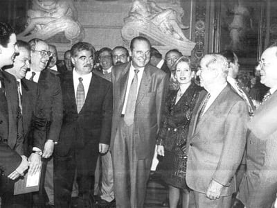 Saudi-Lebanese billionaire Rafiq Hariri had generously financed all of Jacques Chirac's election campaigns since his election to Paris City Hall.