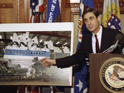 When he was a prosecutor, Robert Mueller accused Libya of being responsible for the Lockerbie attack. Subsequently, the Scottish courts established that this accusation was based on false evidence introduced at the scene of the disaster by a CIA agent.