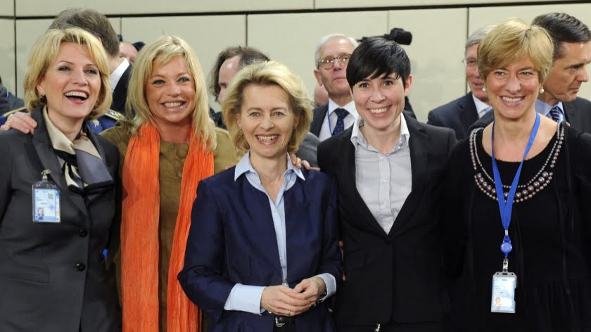 Women – Defence ministers