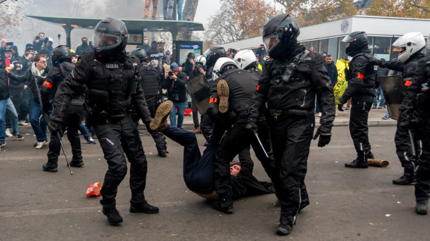 Yellow Vests & Brass Necks: How the Brutality in France Continues to be Invisible
