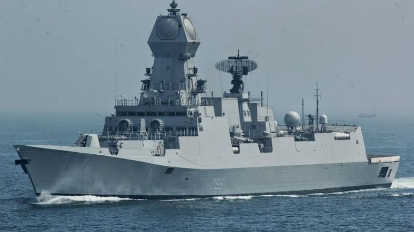 The Indian Navy Sent a Series of Hostile Signals to China Earlier This Month