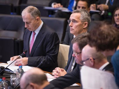 The North Atlantic Council acknowledges the deployment of NATO trainers to the Broader Middle East (Brussels, 13 February 2020).