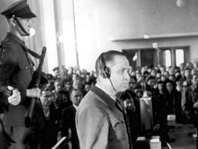 Rudolf Höß testifies at the Nuremberg Trial