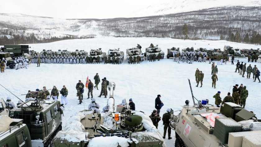 World War III's Newest Battlefield: U.S. Troops Head for the Arctic