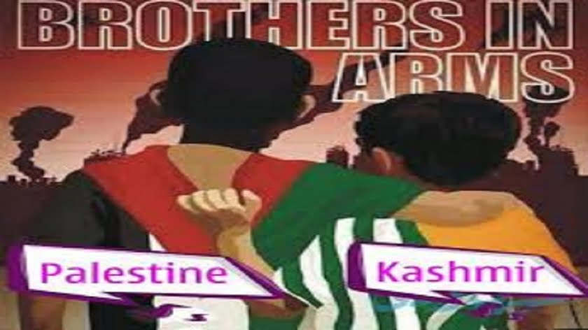 Kashmir = Palestine So Support Both Equally!