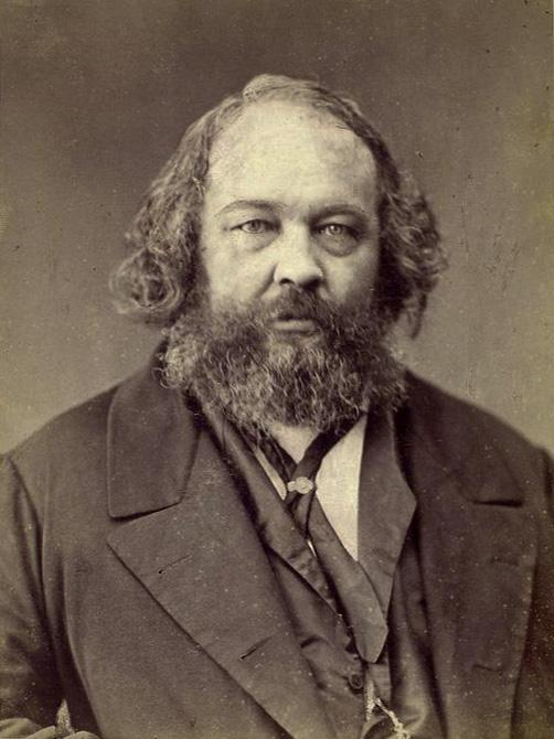 Bakunin photographed by Nadar