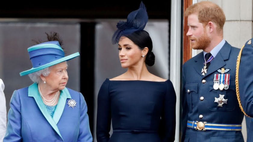Queen Elizabeth Beats Hollywood and the Stumblebum Sussexes