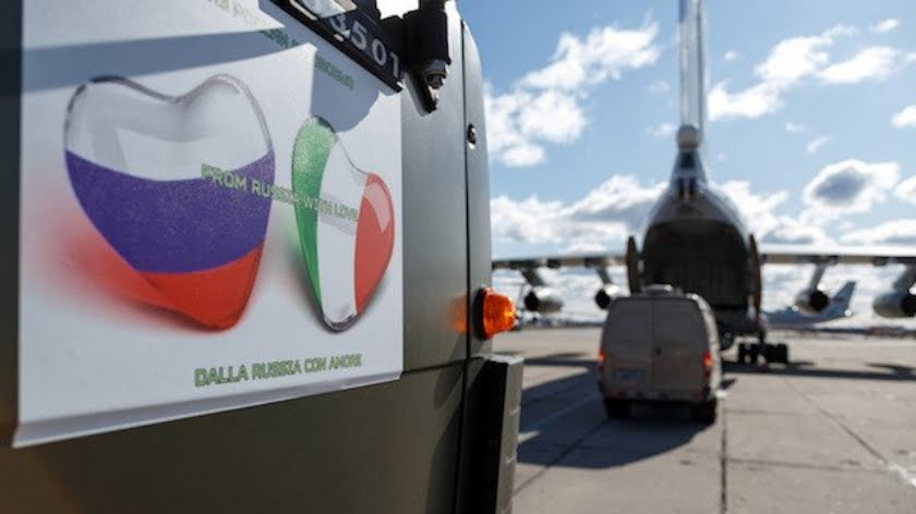 Poland Sabotages Russian Coronavirus Relief Efforts for Italy