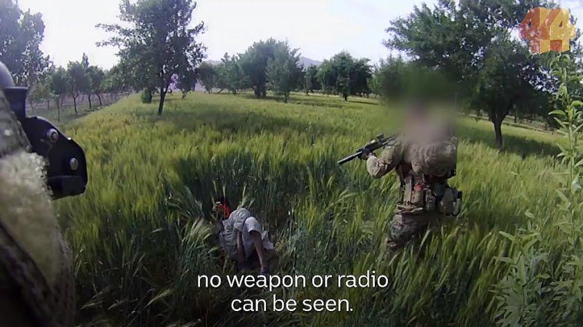 Sickening Videos of Australian SAS Troops Murdering Unarmed Afghan Civilians