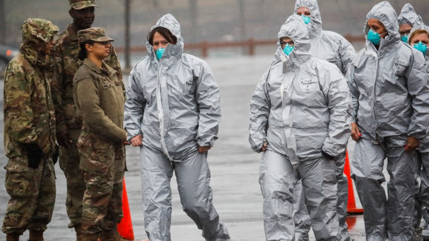 US Intel Agencies Played Unsettling Role in Classified Coronavirus Response Plan