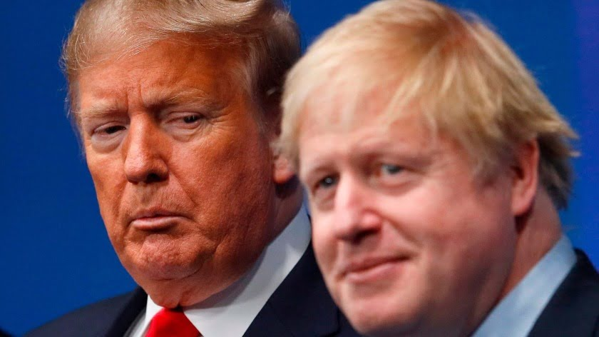 Trump's Egotism and Johnson's Incompetence Over Covid-19 Is Shameful