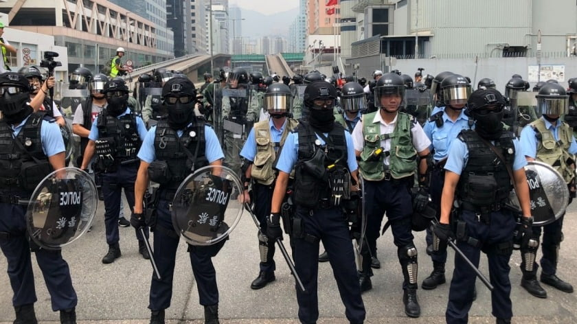 None of Your Business: China, Hong Kong and a Question of Sovereignty