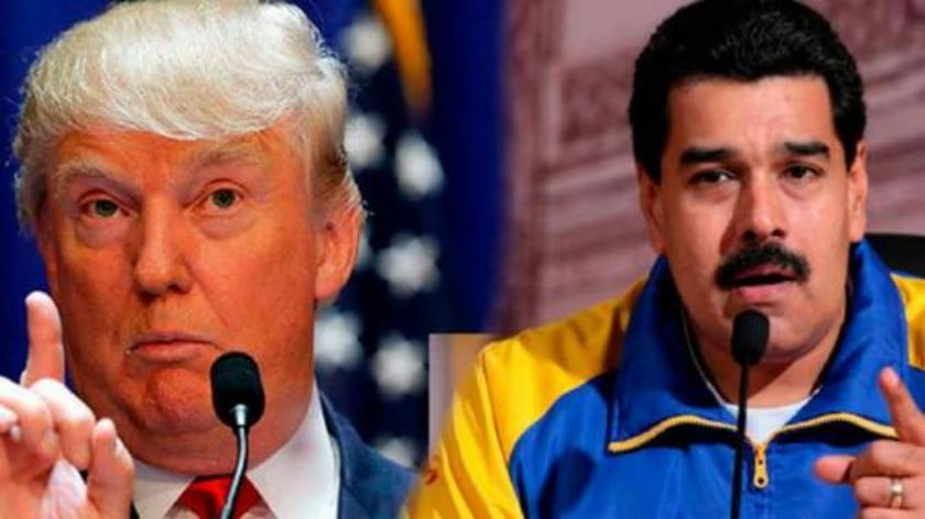 Trump Slams Guaidó While Expressing Openness in Speaking with Maduro