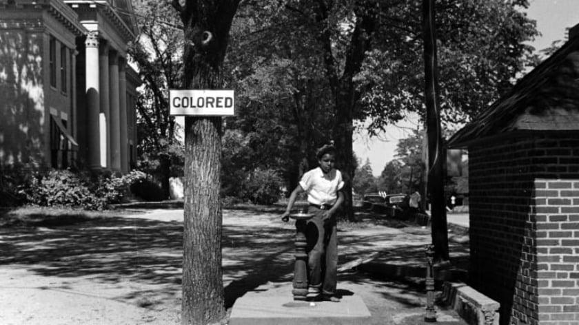 Racial Segregation in America's White Supremacist Society