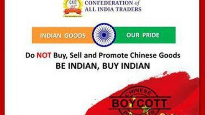 The China-India Trade War: Indian Boycott of Chinese Goods