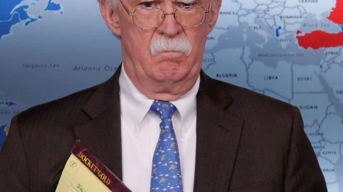 The Room Where It Didn't Happen: Inside John Bolton's Brain