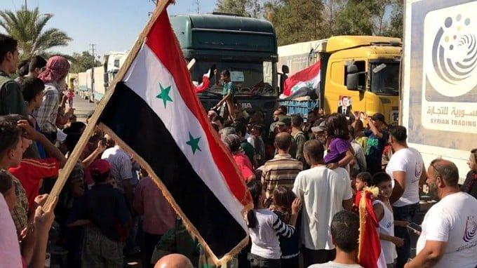Syria Aid? End Sanctions!