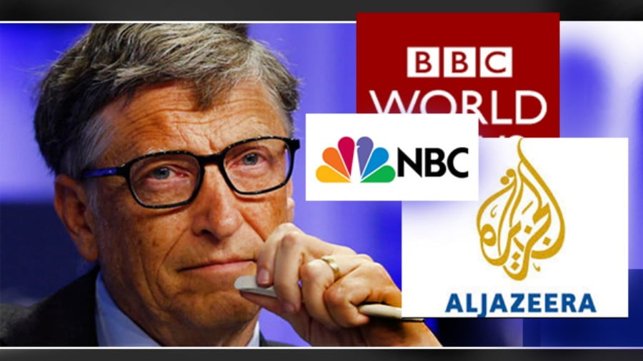 How Bill Gates Buys Mainstream Outlets, Journalists and 'Fact-Checkers'