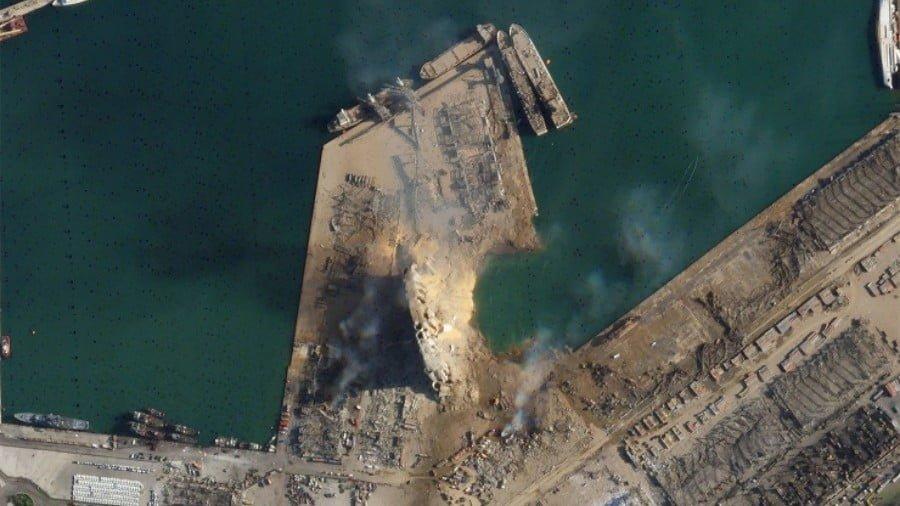 The Strange Case of Beirut's Missing Port