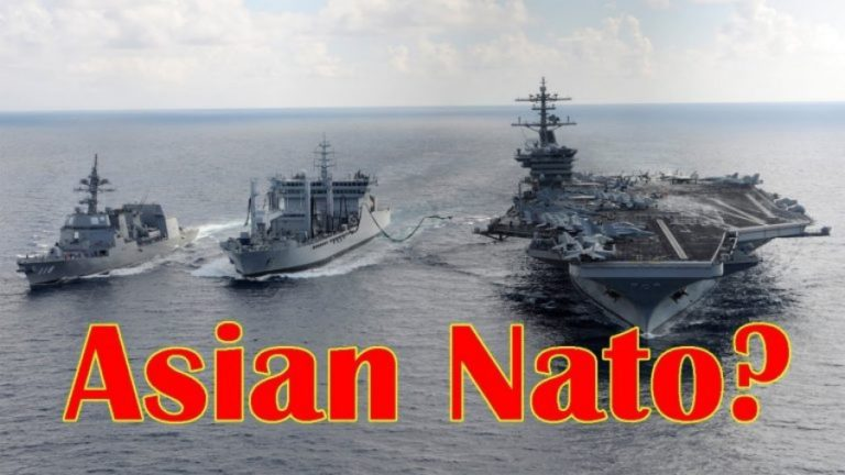 """US Wants to Convert QUAD into """"Asian NATO"""""""
