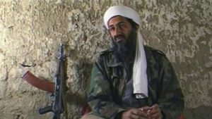 Where was Osama bin Laden on September 11, 2001?